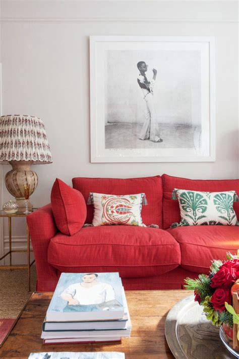living room with red sofa best 25 red sofa decor ideas on pinterest red sofa red