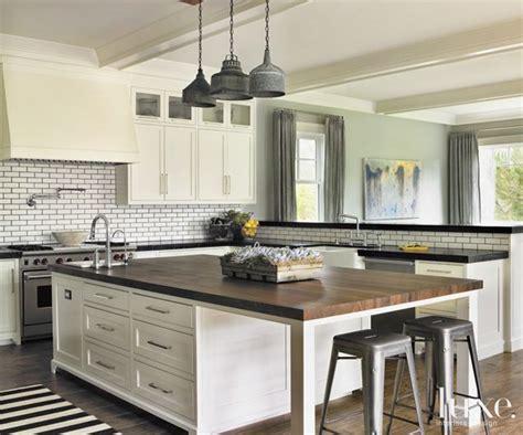 kitchen alluring white industrial kitchen with ceramic backsplash 76 best images about kitchens timeless tile on pinterest