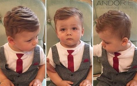 how to have a neat hairstyle with baby fine hair 20 сute baby boy haircuts