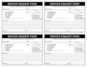 service forms templates best photos of service form template word it service