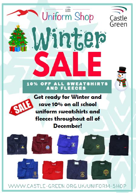 Winter Sale At The Green Directory Shop by Castle Green Shop