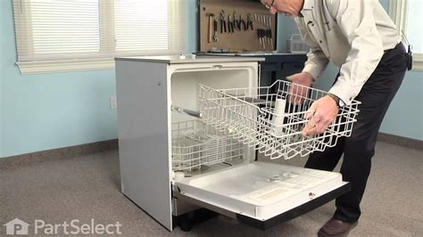 How To Fix Dishwasher Rack by Dishwasher Repair Replacing The Rack Roller Ge Part Wd12x383
