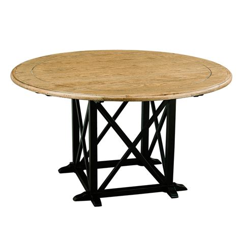 Provincial Dining Table Provincial Oak Dining Table 1400mm Distressed Black
