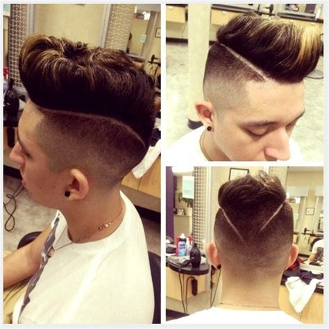how to do v shaped fade mohawk hairstyles 40 best mohawk haircuts for men 2016