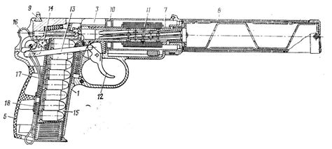 gun diagram pb silenced pistol forgotten weapons