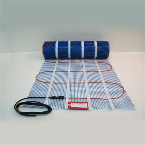 Tapis Plancher Chauffant by Plancher Chauffant Electrique Cable Kit Tram