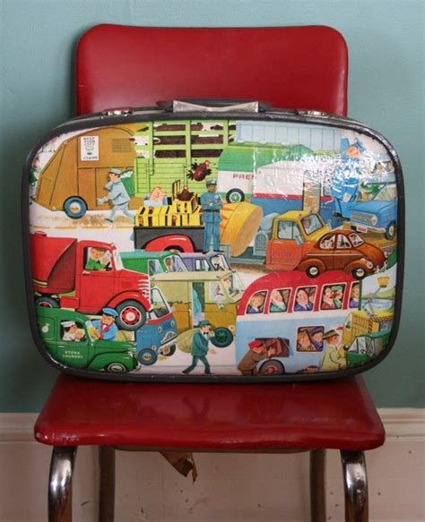 How To Decoupage A Suitcase - vintage decoupage suitcase by pixiegenne on etsy crafty