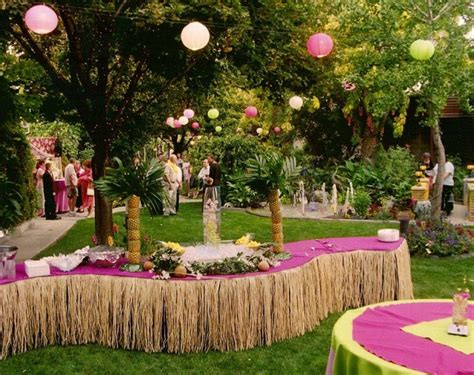 hawaiian backyard party ideas hawaiian party games adults home party ideas