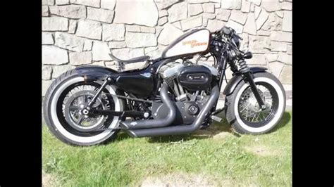 Modified Bobber by Harley 48 Custom Forty Eight Modified Bobber