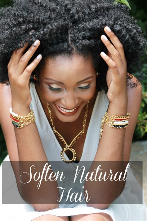 Soften Course Hair | how to soften coarse natural hair asili glam