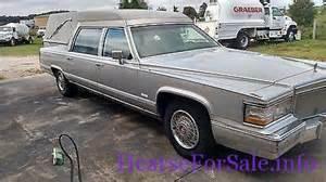 1992 Cadillac Hearse Cadillac Brougham 1992 Cadillac Hearse Hearse For Sale