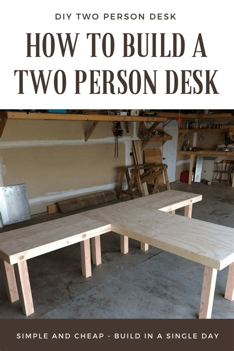 two person desk diy best 25 two person desk ideas on 2 person