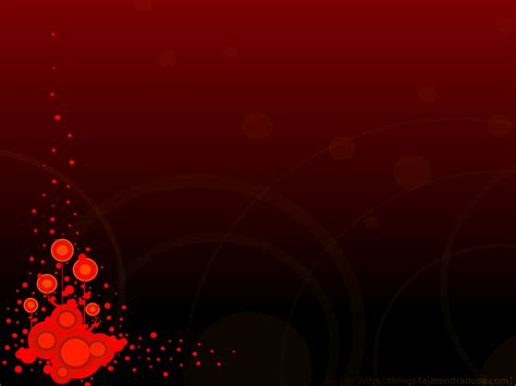 Free Red O Splash Backgrounds For PowerPoint   Abstract