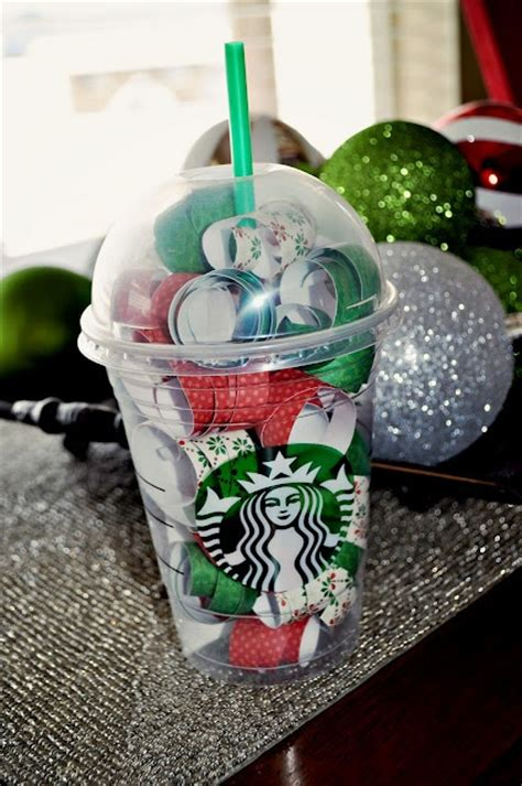 Ideas To Put Gift Cards In - 17 best starbucks gift ideas on pinterest gift ideas thanks a latte and