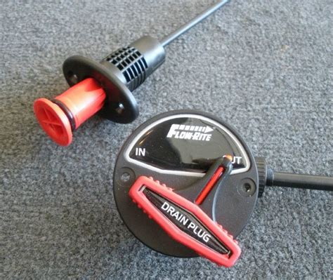 nitro bass boat drain plug never worry about forgetting your boat s drain plug again