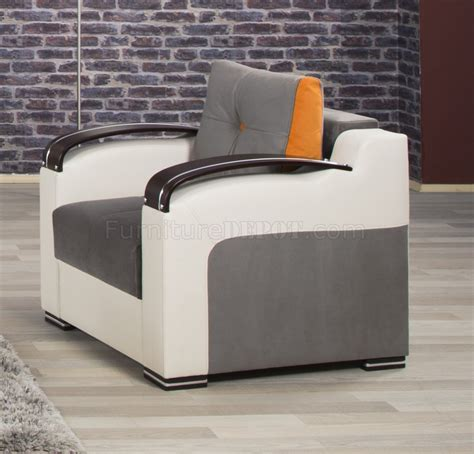 Divan Sofa Bed Divan Deluxe Sofa Bed In Gray Fabric By Casamode W Options