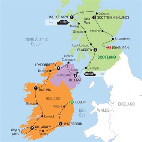 best of ireland best of ireland scotland trafalgar dublin edinburgh