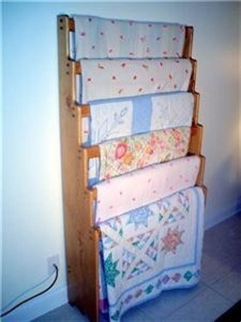 Quilt Rack Display by Items Similar To Six Quilt Blanket Afghan Rack Display