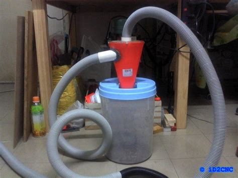diy cnc part  diy cyclone dust collector helpful