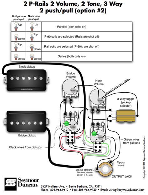 seymour duncan rails wiring diagram get free image