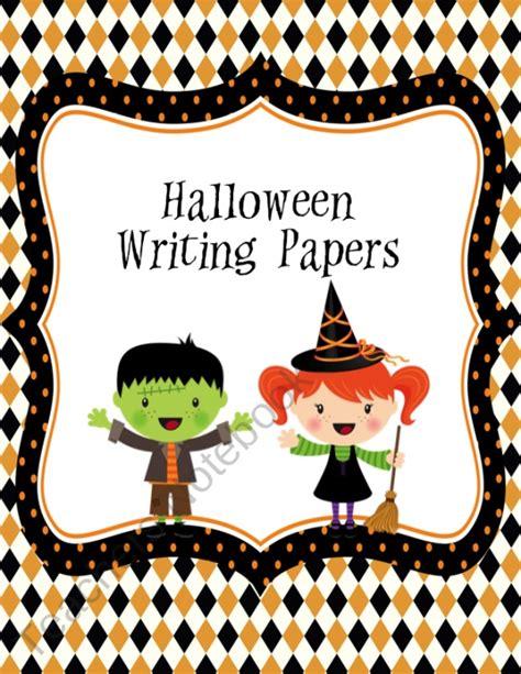 halloween writing themes halloween themed writing paper writing ideas pinterest