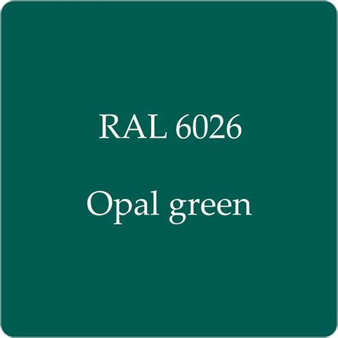 Opal Green ral 6026 cellulose car paint opal green 10l with free