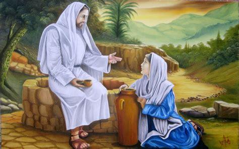imagenes de jesus y la samaritana estudio evangelio de juan conferencia 14 jes 250 s y la