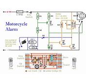 Motorcycle Alarm Circuit Diagram  Project Alarms