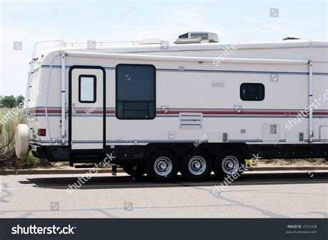 Road Recreational Vehicles by Recreational Vehicle On The Road Stock Photo 4721428