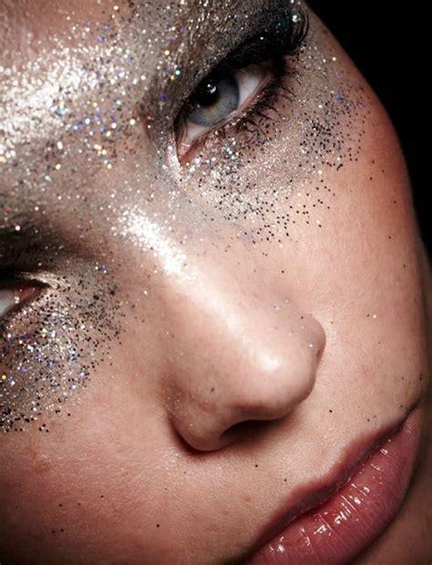 Make Up Glitter Silver Glitter Make Up Hair