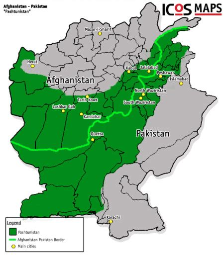middle east map in 2050 pashtunistan out of central asia now