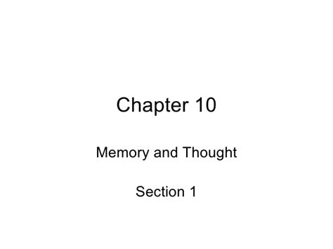 memory chapter 10