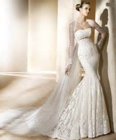 lace mermaid wedding dresses lace strapless mermaid wedding dress ipunya