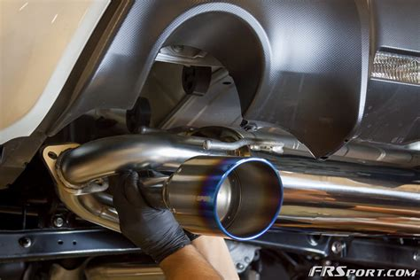 subaru brz exhaust our fr sport brz gets an exhaust upgrade heavy throttle