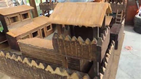 imagenes de fuertes de juguete fuerte medieval miniatura en madera youtube