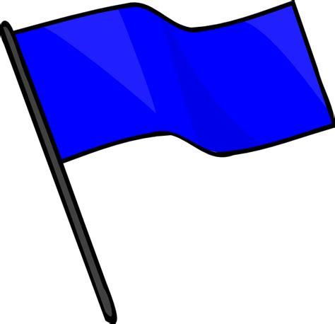 flag clipart blue flag clip at clker vector clip