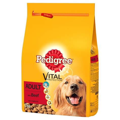pedigree puppy food pedigree vital protection complete food beef at burnhills