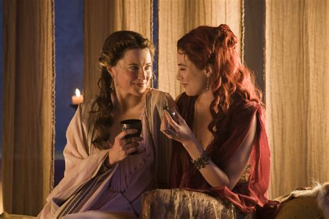 lucy film now tv lucy lawless jaime murray in spartacus gods of the arena