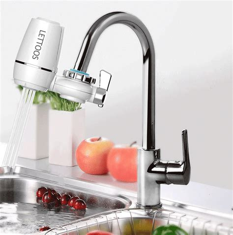 kitchen faucet water purifier lts 86 tap faucets water filter washable ceramic faucets