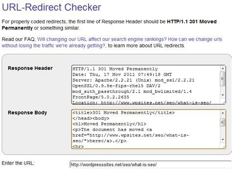 check  urls   properly redirected