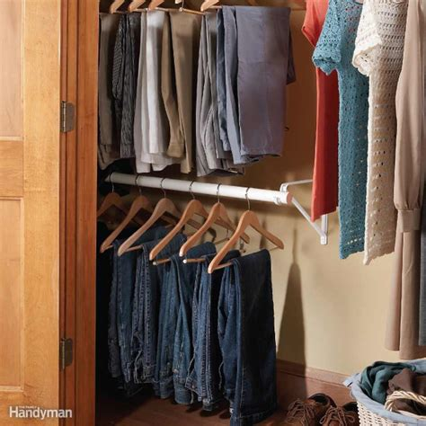 Closet Ways by Easy Ways To Expand Your Closet Space The Family Handyman