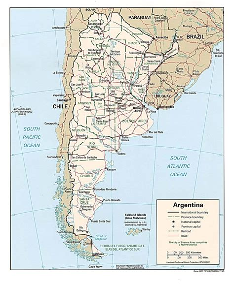 map of print argentina maps printable maps of argentina for