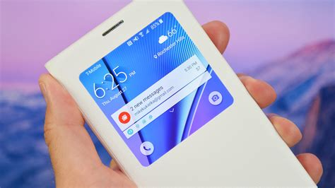 Sview Note5 samsung galaxy note 5 s view flip cover review