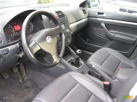 volkswagen sedan interior anthracite black interior 2006 volkswagen jetta tdi sedan