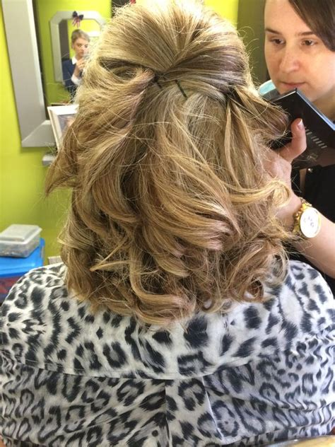 half up half down hairstyles mother of the bride half up hairstyles for mother of the bride hairstyles by