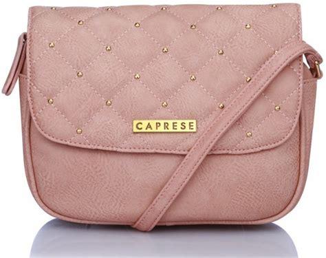Tas Sling Bag Model Terbaru 3 In 1 Zira Seoul caprese pink leatherette sling bag almond price in india flipkart