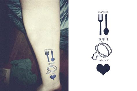 bali tattoo tumblr i designed another tattoo this one says quot eat pray love