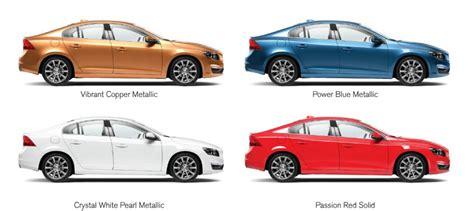volvo s60 colors volvo s60 colours in india automobile planet