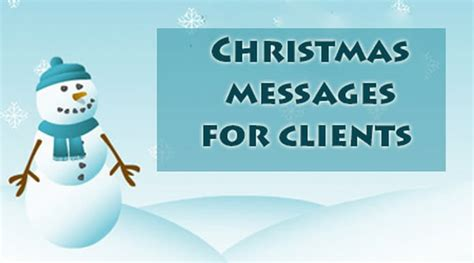 christmas messages  clients christmas email message  clients