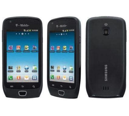 H Samsung Phone Samsung Exhibit Sgh T759 4g Android Phone T Mobile Black Fair Condition Used Cell Phones